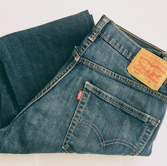 406a5244 Levi's Jeans | Mens Levis 505 Denim 31x32 | Poshmark